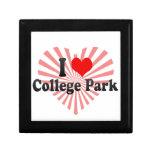 Amo el parque de la universidad, Estados Unidos Caja De Joyas