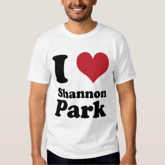 AMO el parque de Shannon Playeras
