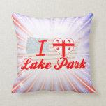Amo el parque del lago, Georgia Almohada