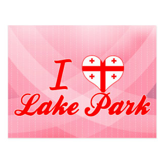 Amo el parque del lago, Georgia Postal