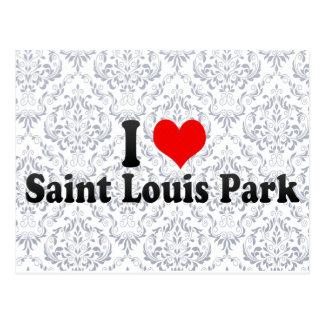 Amo el parque del Saint Louis, Estados Unidos Postal