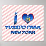 Amo el parque del smoking, Nueva York Poster