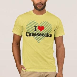 Amo el pastel de queso playera