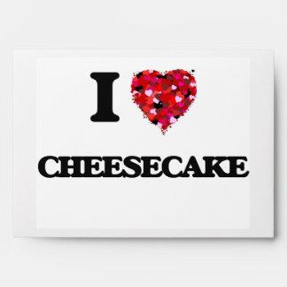 Amo el pastel de queso sobres