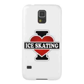 Amo el patinaje de hielo carcasa para galaxy s5