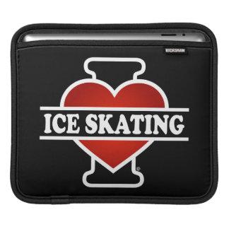 Amo el patinaje de hielo fundas para iPads