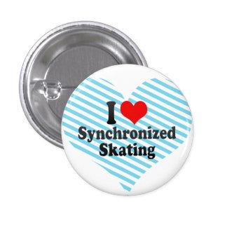 Amo el patinaje sincronizado pins