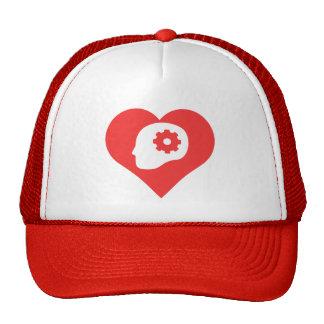 Amo el pensar gorras