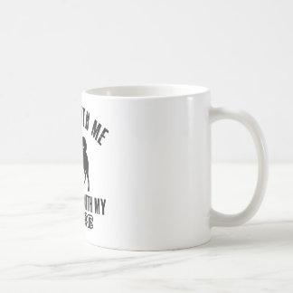 Amo el PERRO DE POMERANIA FINLANDÉS Taza De Café