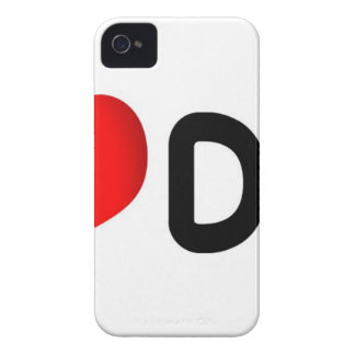 Amo el perro iPhone 4 Case-Mate funda