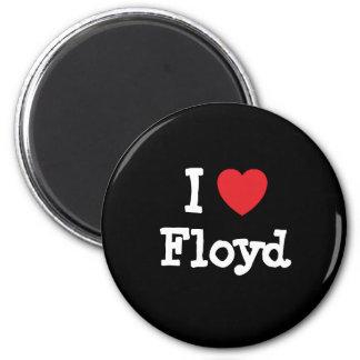 Amo el personalizado del corazón de Floyd personal Iman