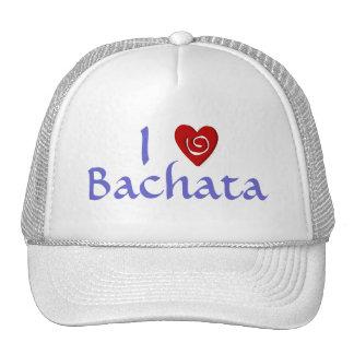 Amo el personalizado latino del baile del corazón  gorras