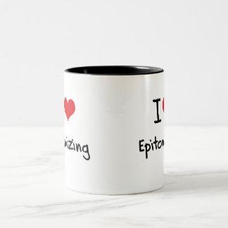 Amo el personificar tazas de café