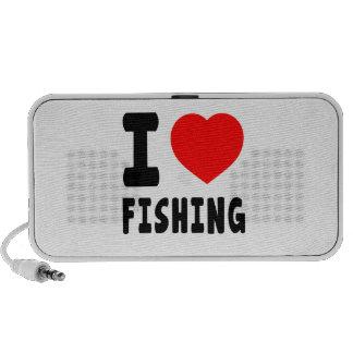 Amo el pescar PC altavoces