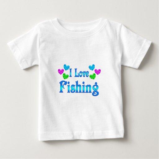 Amo el pescar camiseta