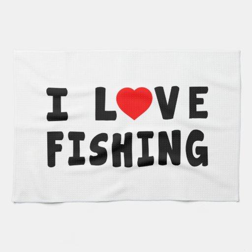 Amo el pescar toallas