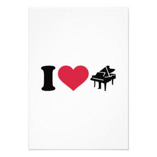 Amo el piano de cola anuncio