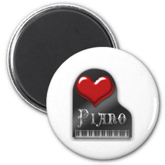 Amo el piano imanes