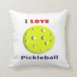 amo el pickleball rojo graphic.png del texto del p cojines