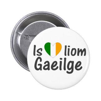 Amo el Pin gaélico del botón de Gaeilge del