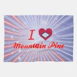Amo el pino de montaña, Arkansas Toalla De Mano