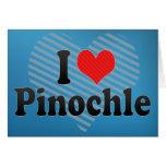 Amo el Pinochle Felicitacion