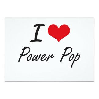 """Amo el PODER POP Invitación 5"""" X 7"""""""
