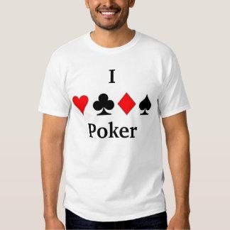 Amo el póker camisas