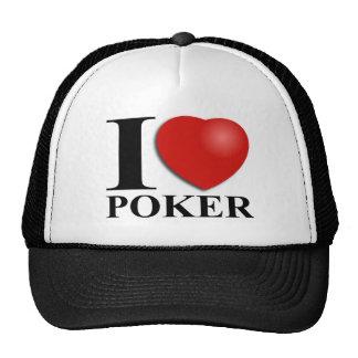 Amo el póker gorro de camionero