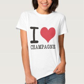 ¡Amo el pollo - Champán - los productos del Poleras