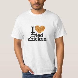 Amo el pollo frito camisas