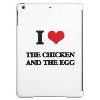 Amo el pollo y el huevo