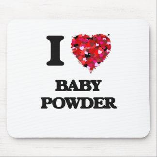 Amo el polvo de bebé alfombrilla de ratones
