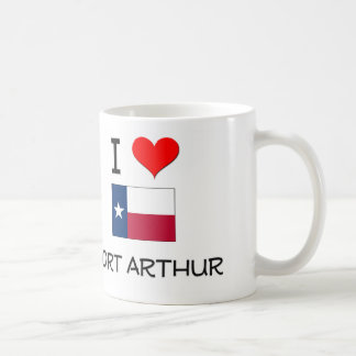 Amo el Port Arthur Tejas Tazas De Café