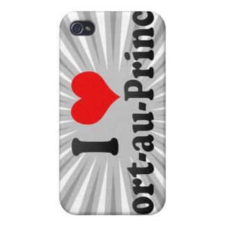 Amo el Port-au-Prince, Haití iPhone 4 Protectores