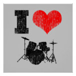 Amo el poster apenado los tambores