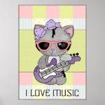 Amo el poster de la música
