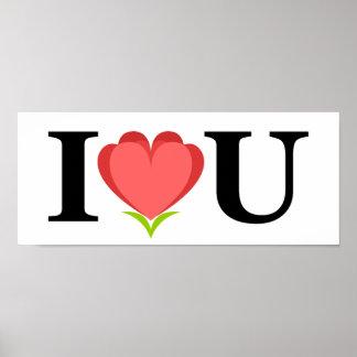 Amo el poster de U