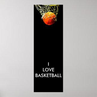 Amo el poster del baloncesto
