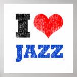 Amo el poster del jazz