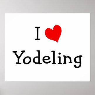 Amo el poster del Yodeling