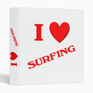 Amo el practicar surf