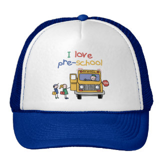 Amo el preescolar gorra