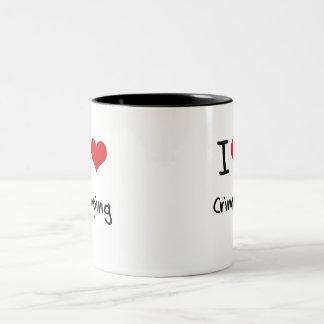Amo el prensar tazas de café