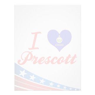 Amo el Prescott, Kansas Plantillas De Membrete