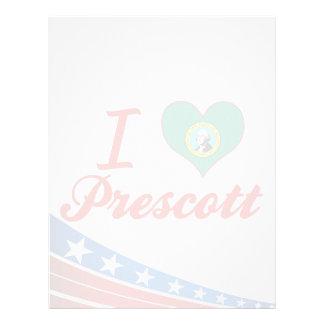 Amo el Prescott, Washington Plantilla De Membrete