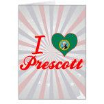Amo el Prescott, Washington Tarjeton
