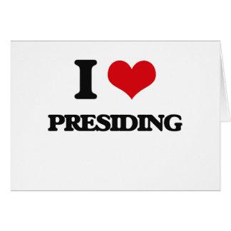Amo el presidir felicitacion