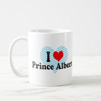 Amo el Príncipe Alberto Canadá Tazas De Café
