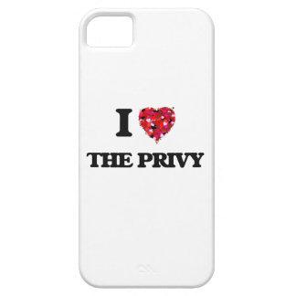 Amo el privado iPhone 5 carcasas
